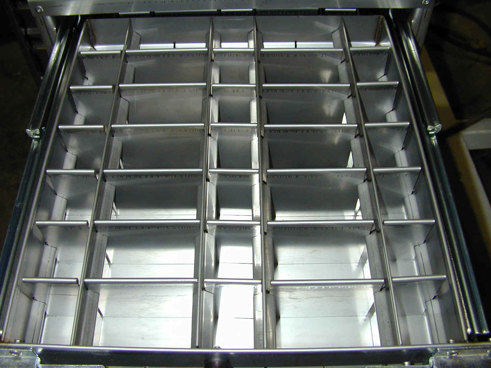 Mechanic Trucks Tool Box Divider Systems